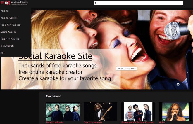 Karaoke 4 Free