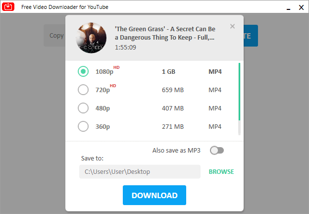 Free Youtube movie downloader
