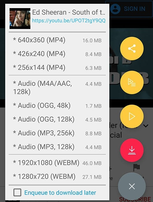 Tubemate Screenshot