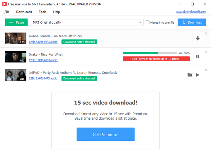 free video to mp3 converter youtube